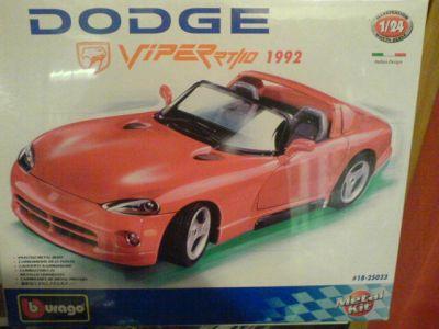 BURAGO - model kit 1:24