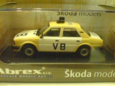 ŠKODA - model kovový